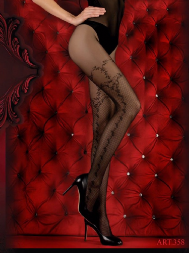 Ballerina Tights Criss Cross with Leg Design